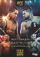 free ufc 234 video fight whittaker gastelum pick preview whos fighting tonight