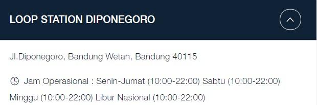 Alamat GraPARI Telkomsel Bandung: Jl.Diponegoro