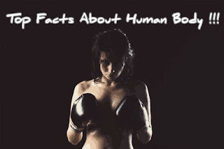 amazing and scientific facts about the human body.