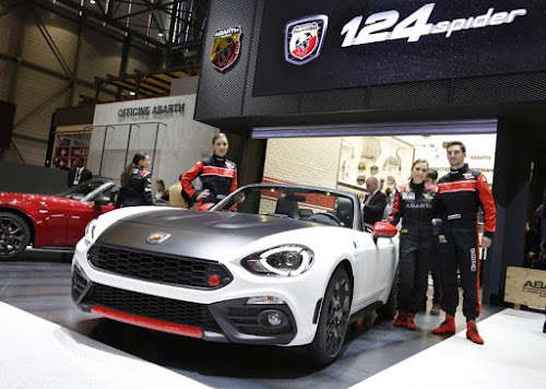 Abarth 124 at the Geneva Motor Show
