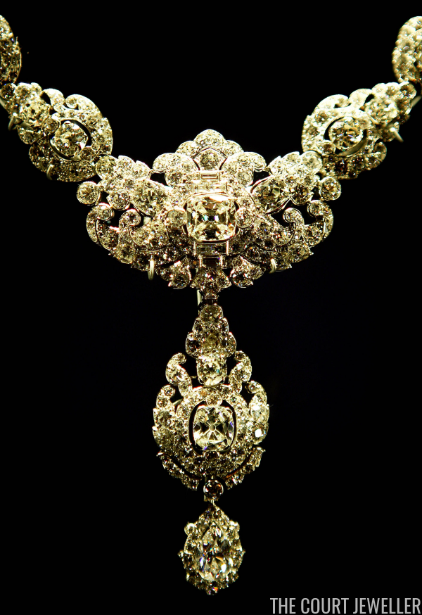 Bejeweled Close Ups The Nizam Of Hyderabad Necklace The
