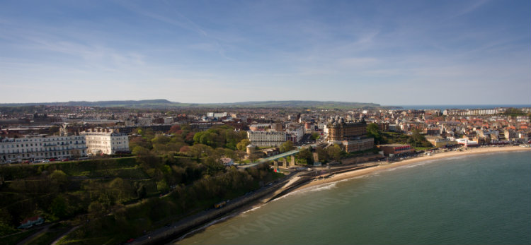 Scarborough drone photo