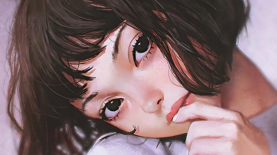 Anime, Girl, Beautiful, Art, 4K, #4.2483