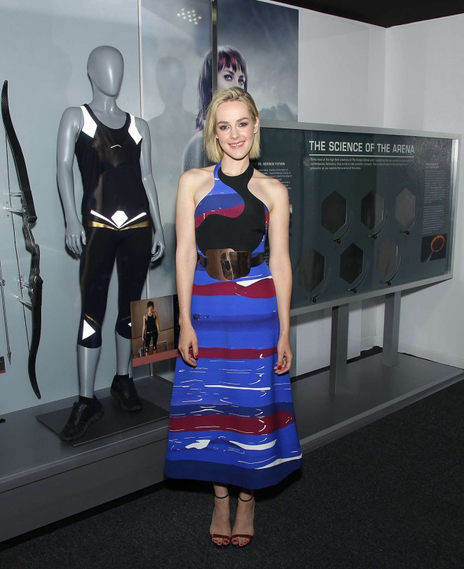 Jena Malone at 'The Hunger Games The Exhibition' VIP Event in NYC