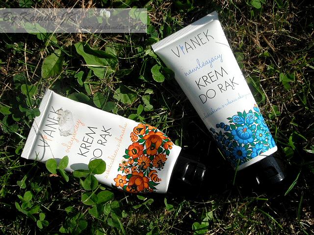 Vianek naturalny polski krem do rąk odżywczy nawilżający kosmetyki