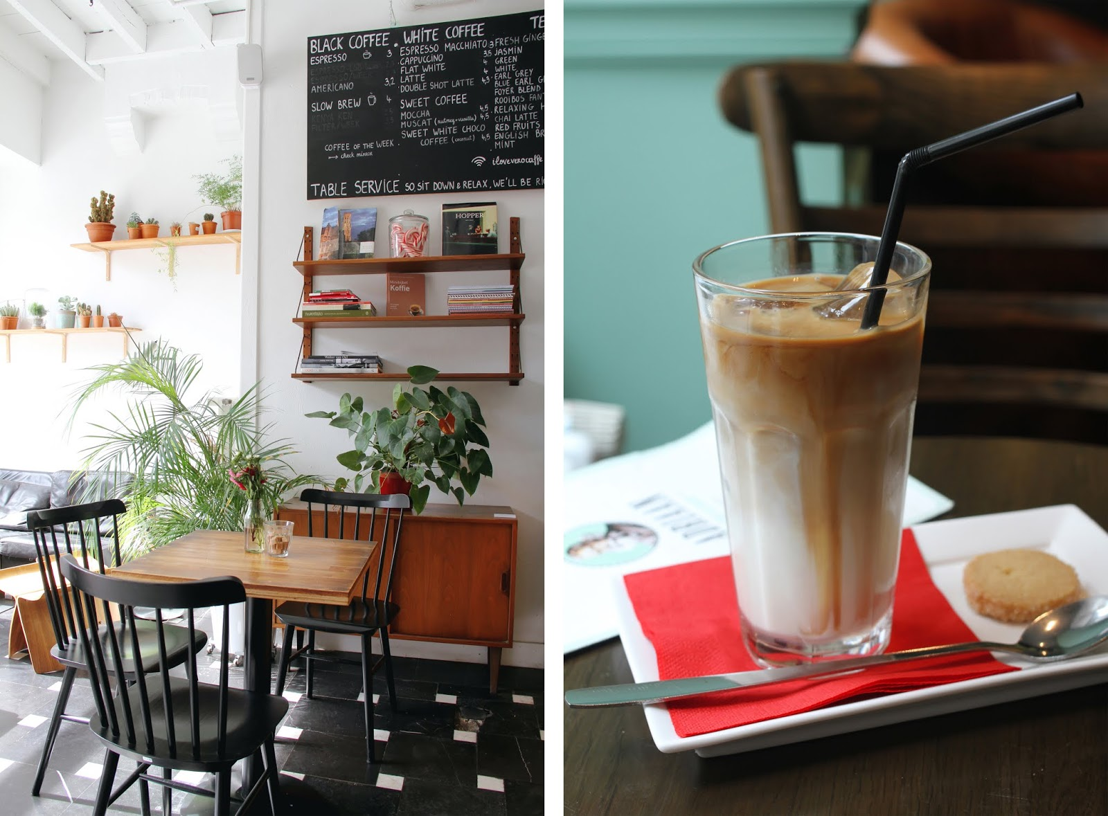 5 favorite coffee spots in Bruges: Vero Caffè + Adriaan