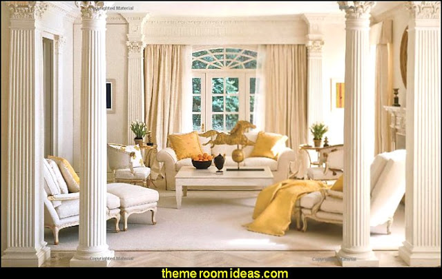 greek theme room - roman theme rooms  mythology theme bedrooms -