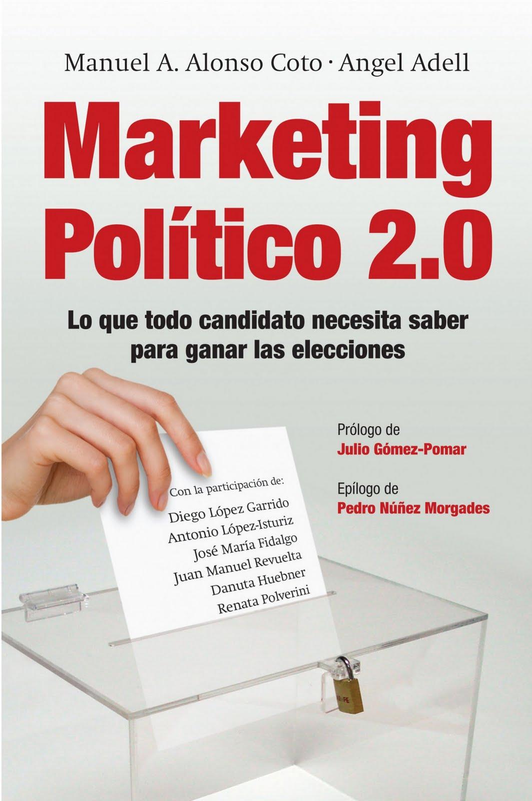 Nuevo Viernes - Nuevo Libro: MARKETING POLÍTICO 2.0