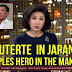 Duterte in Japan Featured by Int'l Media JAPAN OVERWHELMED by Philippine Duterte Official Visit