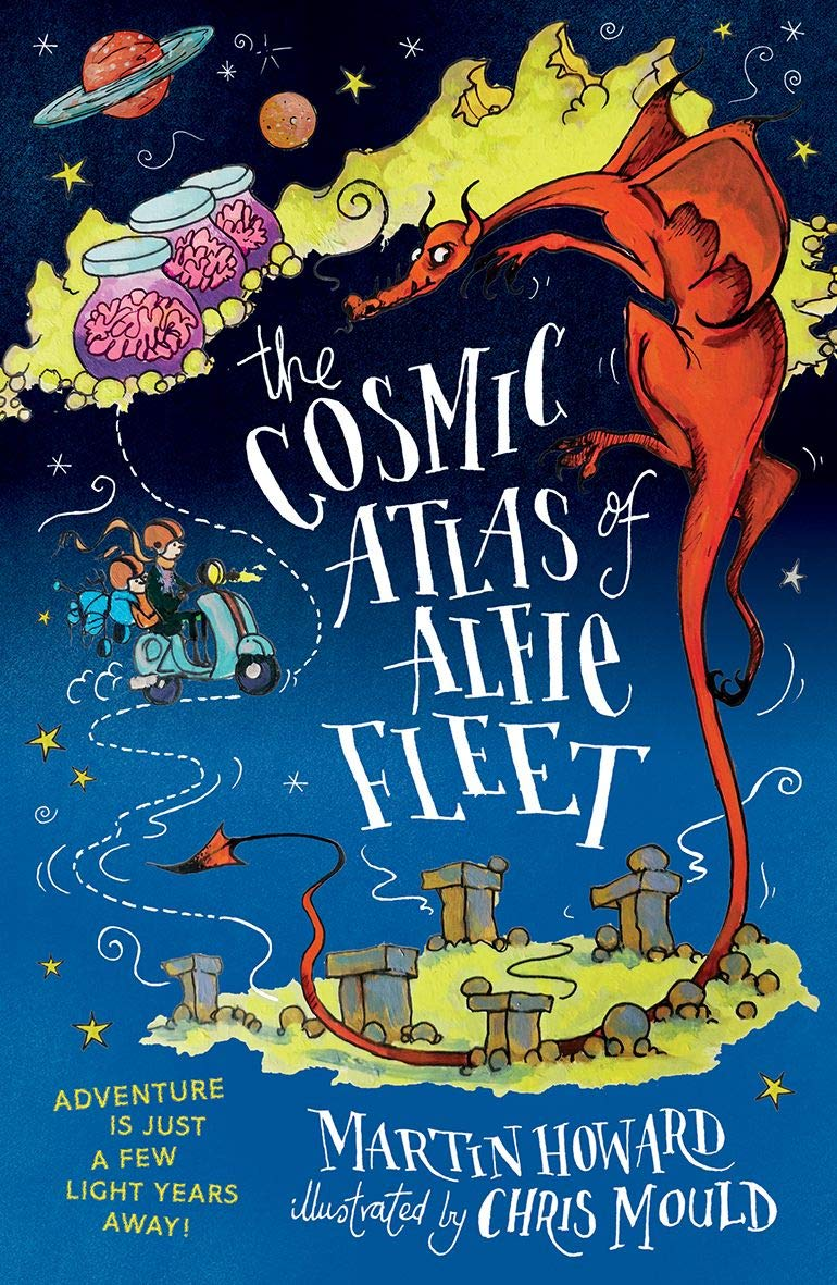 Here we are on a cosmic adventure with alfie fleet and professor pewsley bowell mouvemont the outlandish blog tour arrives at mr ripleys enchanted books