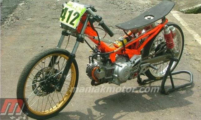 modifikasi jupiter z model drag bike terbaru