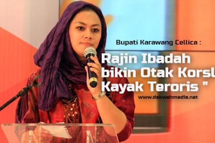 Bupati Yang Bilang Rajin Ibadah Pikirannya Korslet Ternyata Didukung Partai Islam PAN, PKB,PKS, dan PPP