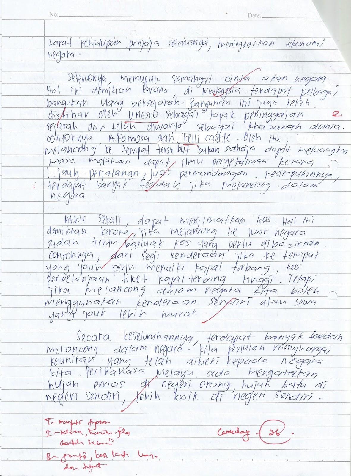 Laman Bahasa Melayu Spm Karangan Pelajar 5 Sains Kekuatan Dan Kelemahan Semasa Menjawab Soalan Kertas 1 Ppt 2017 Dan Ulasan