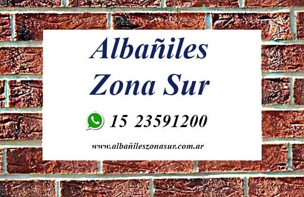 Albañiles Zona Sur: Solicite su presupuesto sin cargo a través de WhatsApp al 1523591200. Albañiles en Berazategui, Hudson, Quilmes, Avellaneda, Lanus, Lomas de Zamora, La Plata.