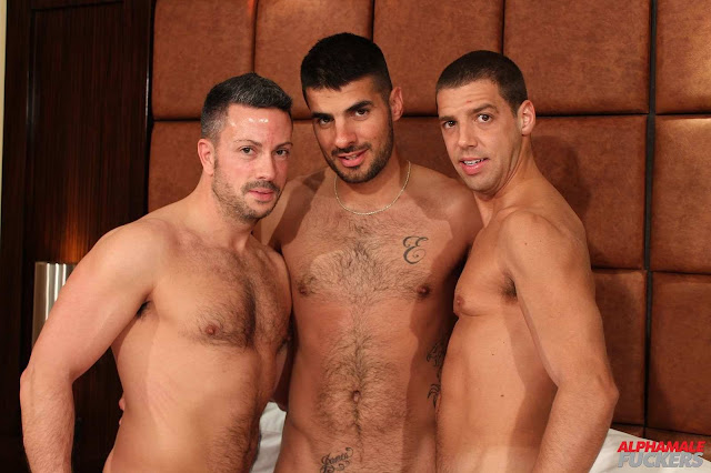 Alpha Male Fuckers - Nick Tiano, Nick Andrews and Tommy Deluca
