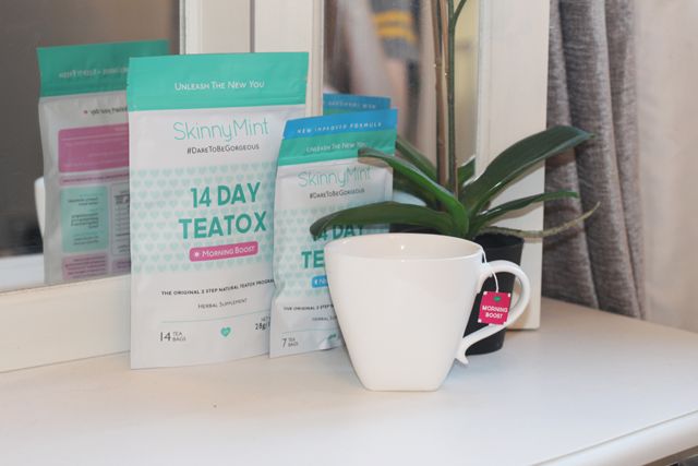 skinny mint teatox blog review