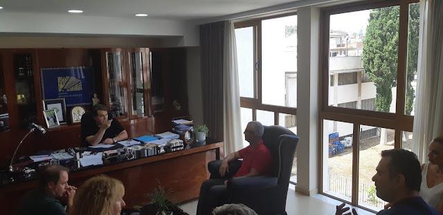 Συνάντηση Δ.Σ Εμπορικού Συλλόγου Άργους με Δήμαρχο Άργους Μυκηνών