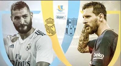 Real Madrid Vs Barcelona 17 Agustus 2017