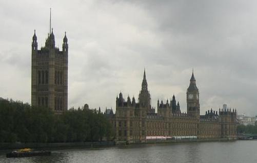 Patrimonio de la Humanidad en Europa y América del Norte. Reino Unido. Palacio de Westminster.
