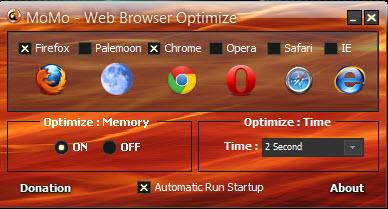 تحميل برنامج MoMo - Web Browser Optimize لتسريع متصفحات الانترنت مجانى