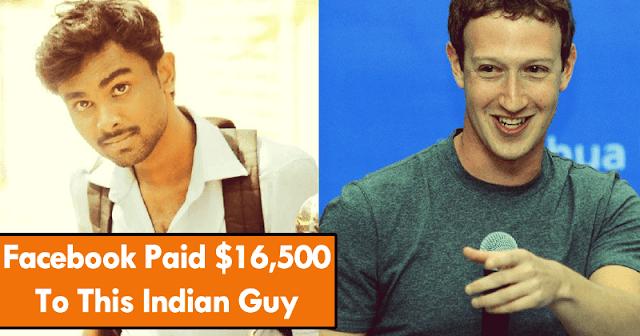 Facebook memberikan  $ 16,500 ke Pria Ini karena Membeberkan kerentanan sistemnya