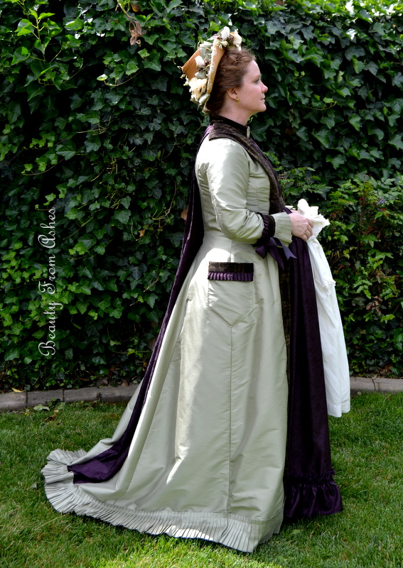 Beauty From Ashes Natural Form Era Maternity Gown