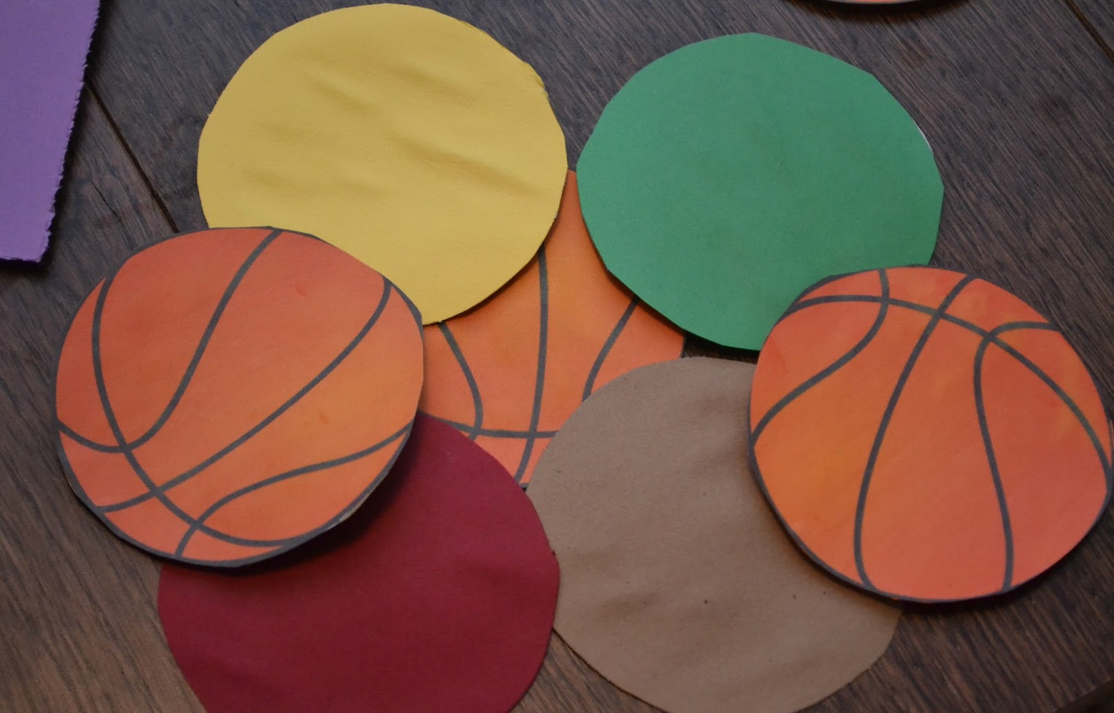 diy basketball memory game building our story