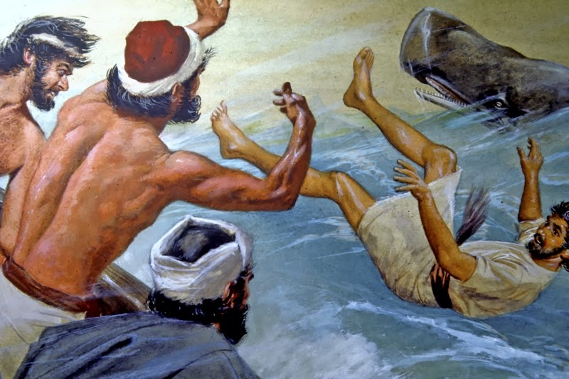 The sailors had no choice and prayed to the Lord to be spared for throwing His prophet into the raging sea.