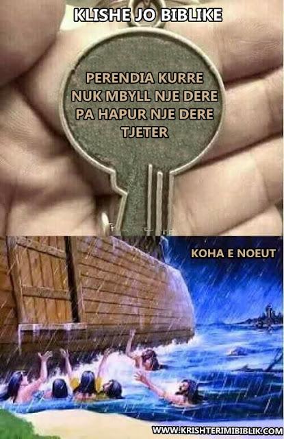 Noeu, arka e Noeut, Bibla, Klishe jo biblike,