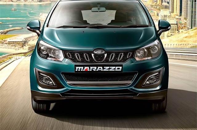 New Mahindra Marazzo front view image