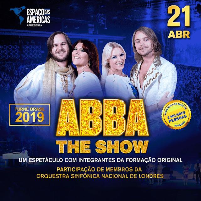 ABBA The Show volta ao Espaço das Américas para mega show