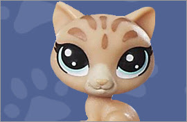 LPS Bengal Cat Figures