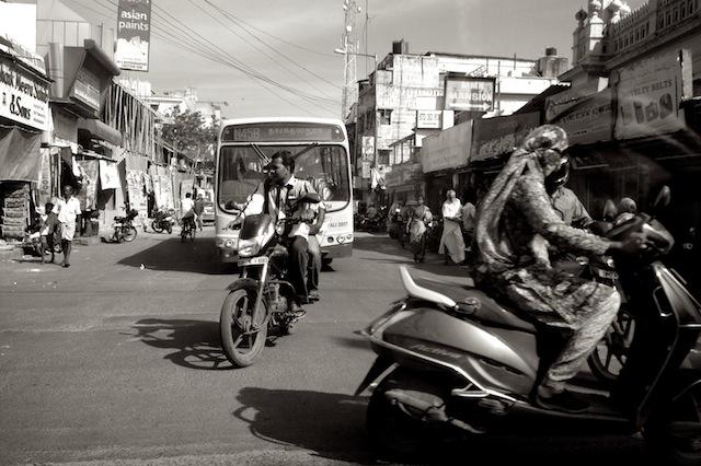 Chennain liikennettä