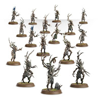 warhammer age of sigmar unit order sylvaneth dryads painted