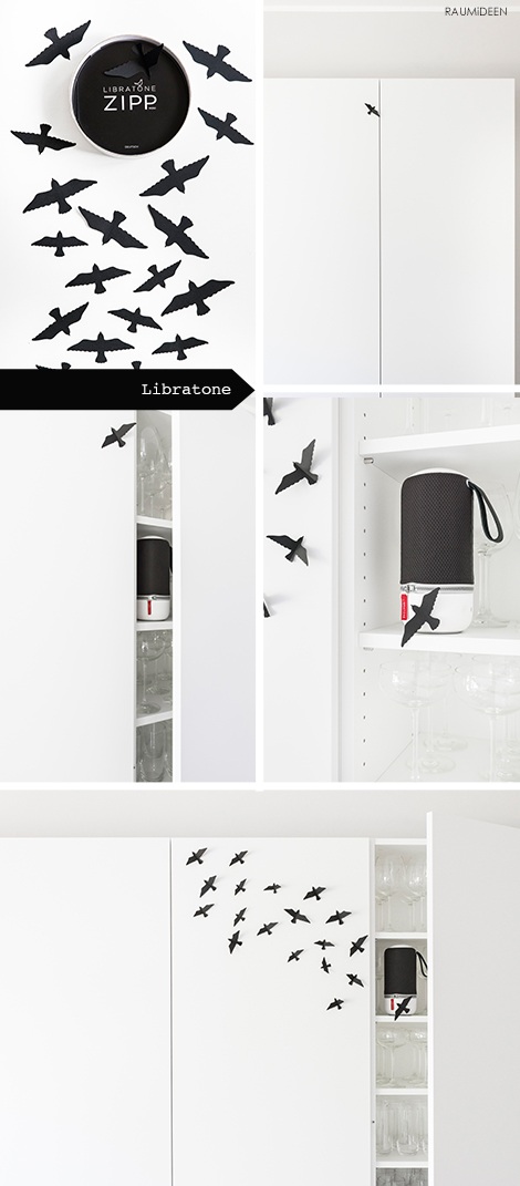 raumideen designidee libratone zipp mini bluetooth lautsprecher kleine geschenke. Black Bedroom Furniture Sets. Home Design Ideas