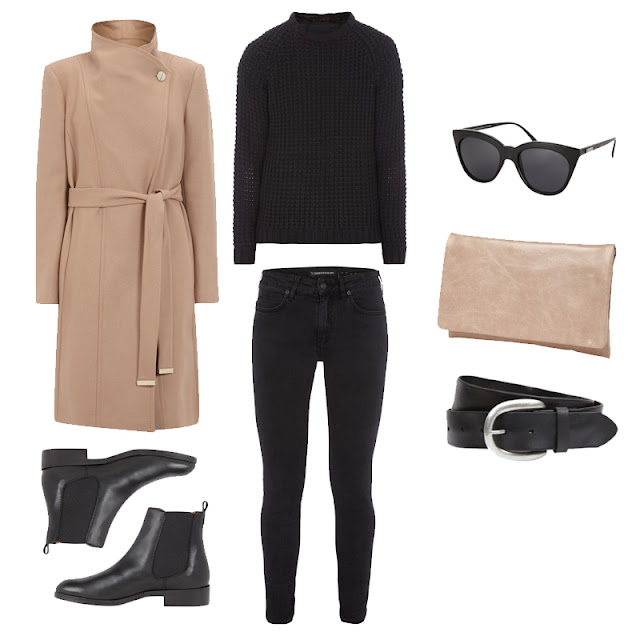 FashionID Look Winter Outfit Camel Mantel