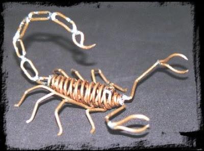 Escorpión de alambre
