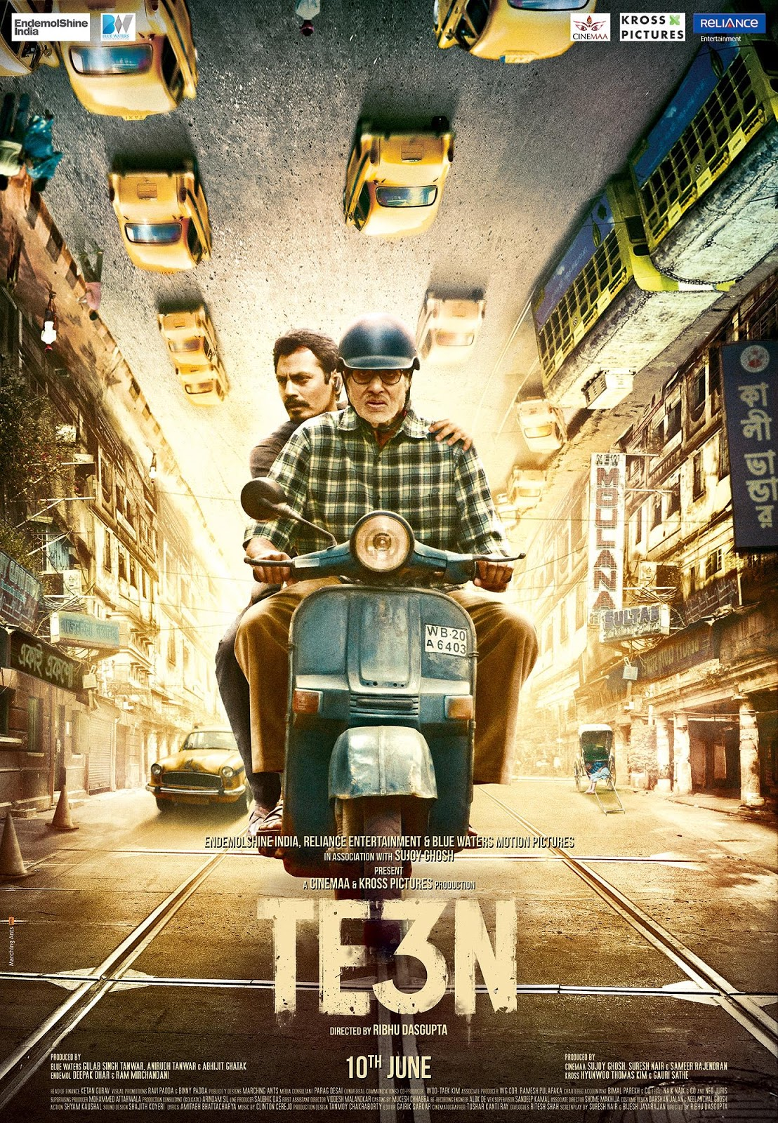 Watch Te3n (2016) DVDRip Hindi Full Movie Watch Online Free Download