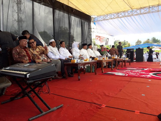 Wow, Zainal-Arsal Tiba di Lokasi Kampanye Akbar Bersama Muradi Darmansjah