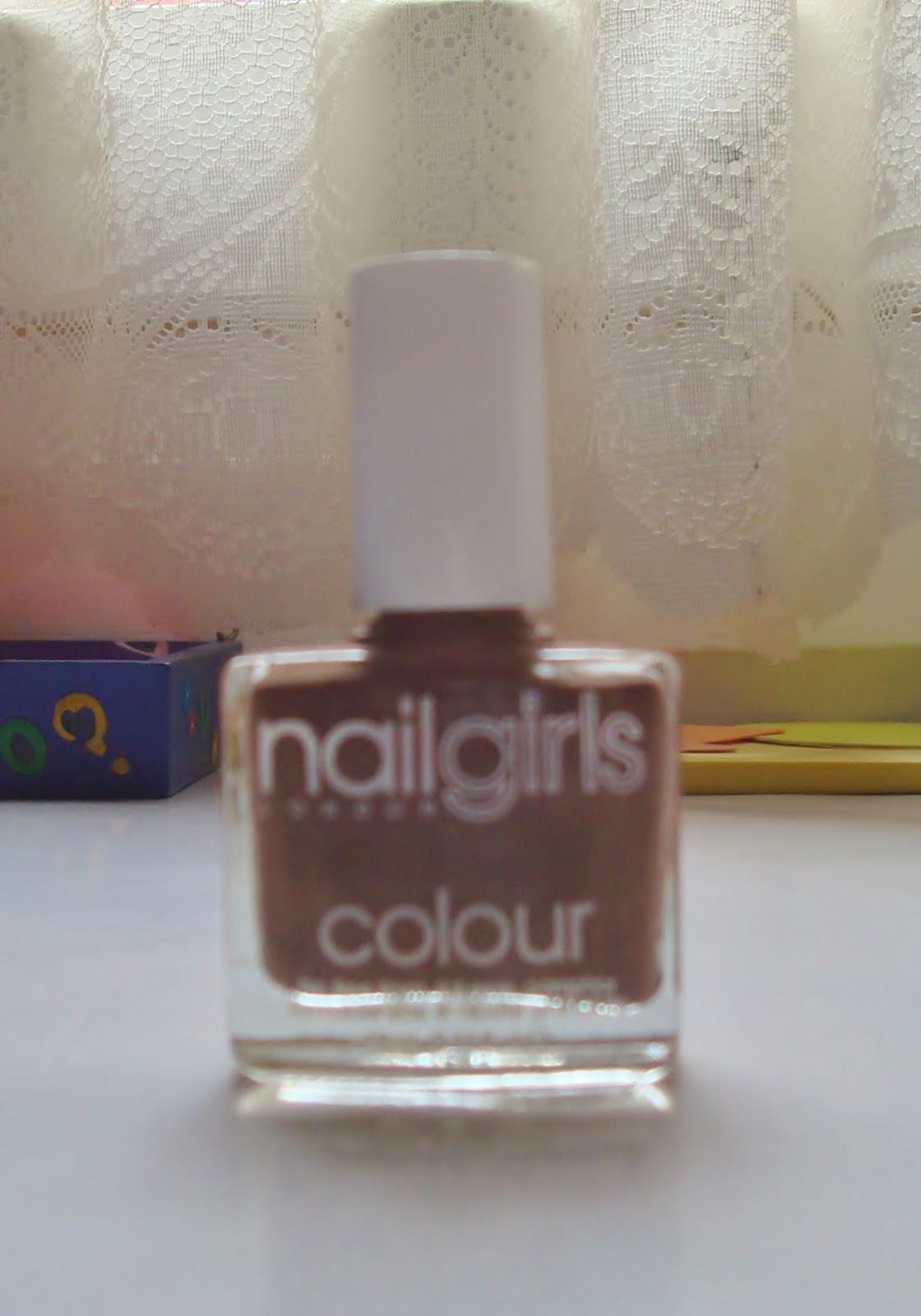 Nails Girls Esmalte de Uñas - Brown