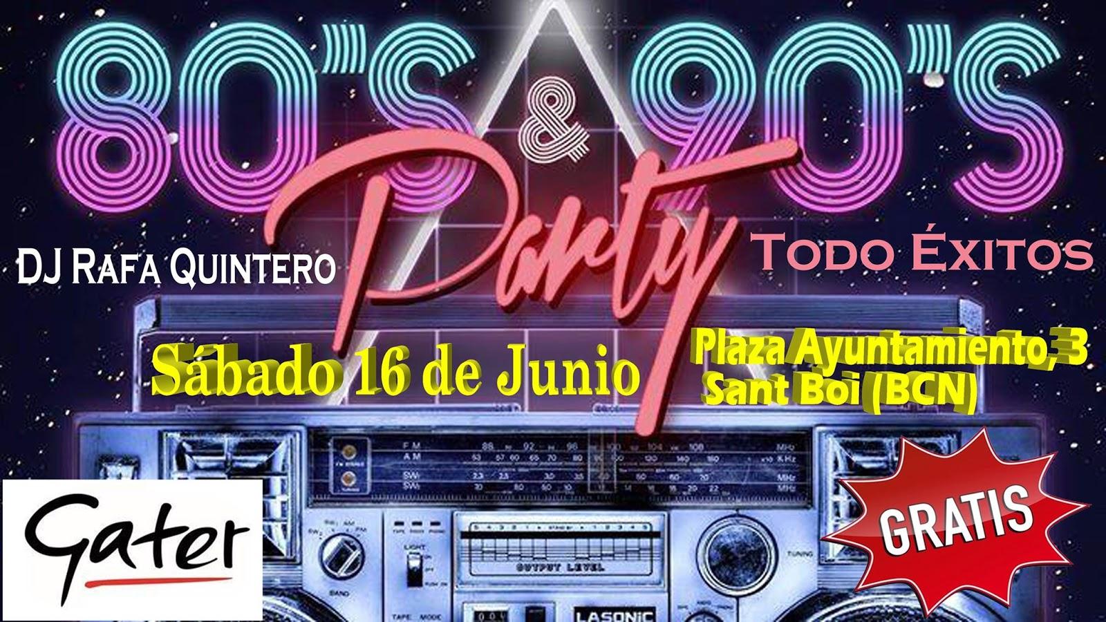 80s & 90s Party (Entrada Gratis)