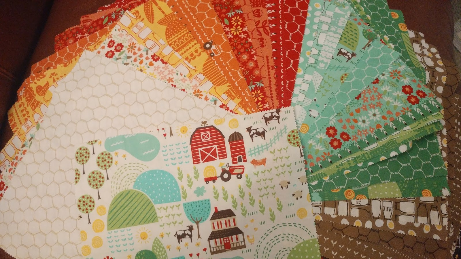 Life In The 907 Farm Fun Quilt Finished