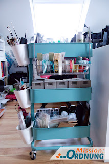 mission ordnung ordnung in der bastelecke rollwagen f r werkzeug. Black Bedroom Furniture Sets. Home Design Ideas