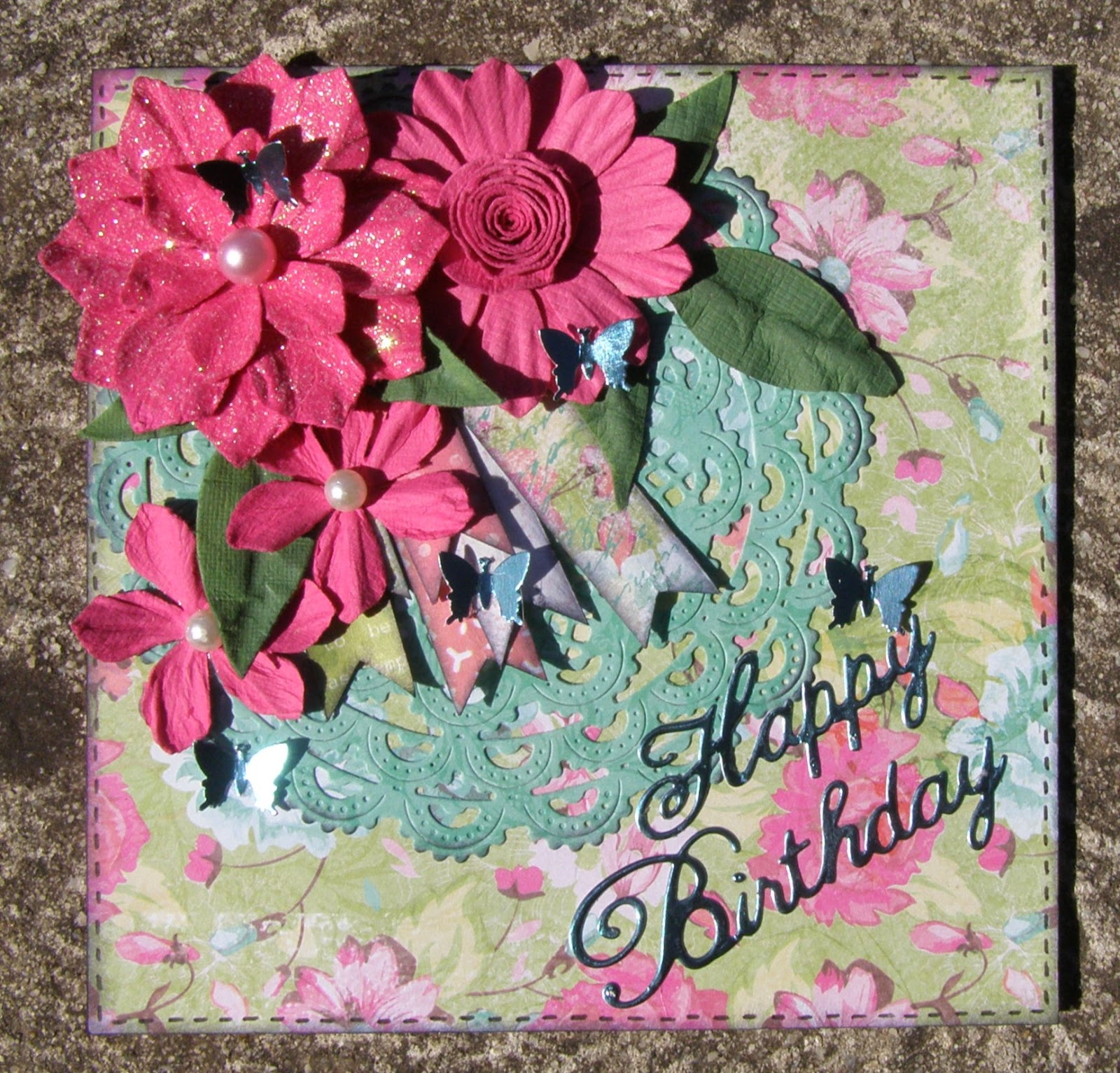 Brendas scrap place happy birthday card you can also join in with us on this months challenge and you will find a link and plenty of dt inspiration for you now for my card izmirmasajfo
