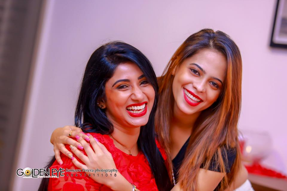 aksha sudari menaka maduwanthi new birthday party hot