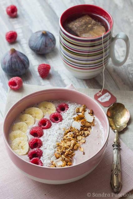 inspiration healthy, fruits bowl cake