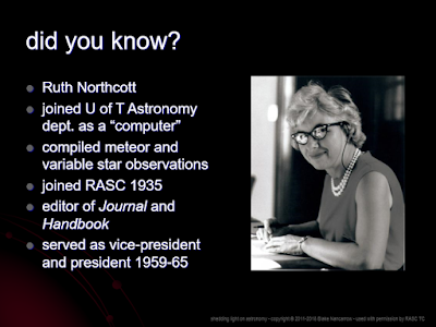 Northcott slide from Fun Facts deck