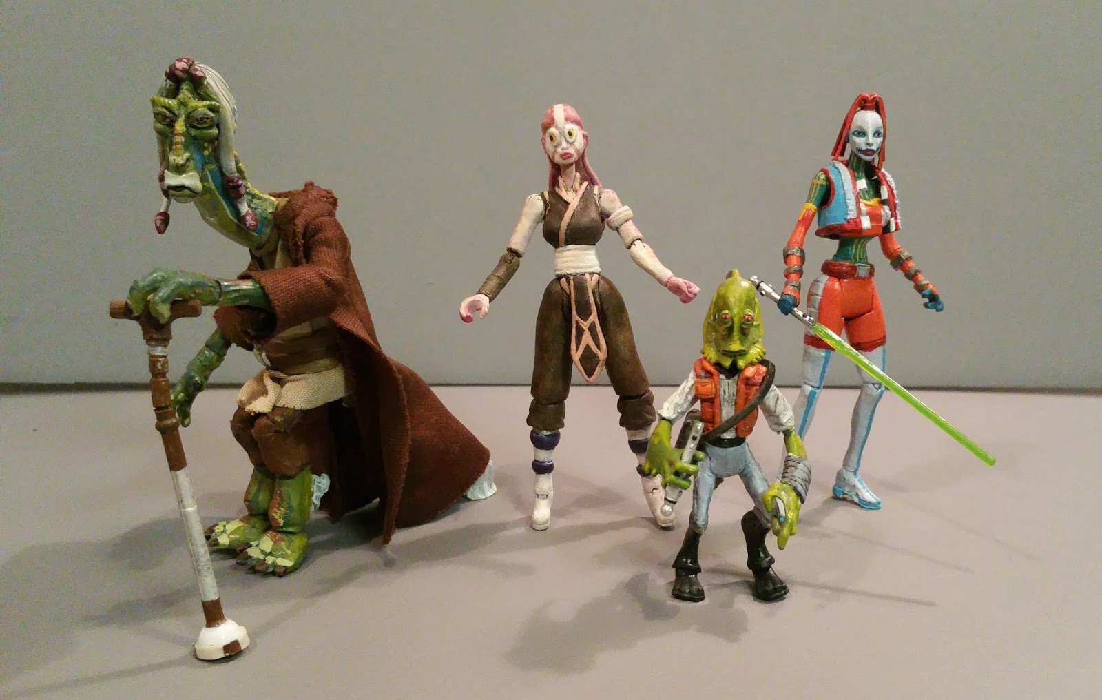 Star Wars The Clone Wars Toys : Star wars customs for the kid quot customizing clone
