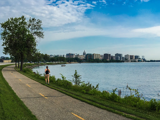 The Capital City State Trail in Madison WI