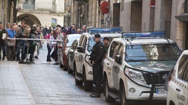 Finaliza operativo de seguridad de Gobierno español en Cataluña